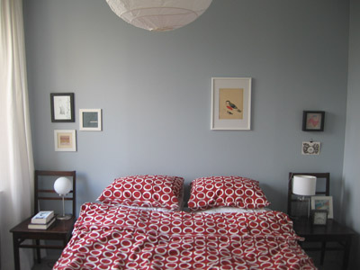 Bed and Sparse Wall