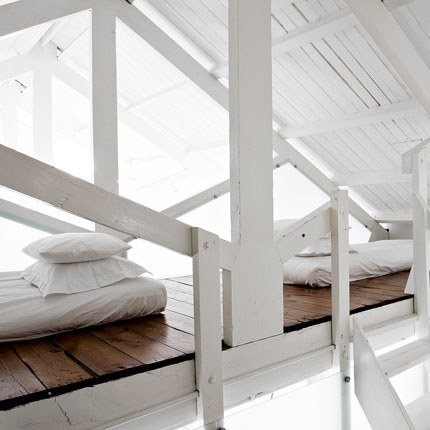 Gorgeous White Loft